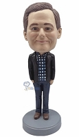 Casual custom bobblehead doll 14
