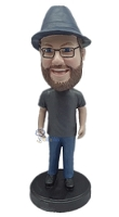 Casual custom bobblehead doll 15
