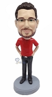Casual custom bobblehead doll 17