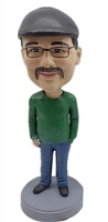 Casual custom bobblehead doll 18