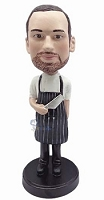 Chef Champion Custom Bobble Head Butcher | Gift Ideas For Men