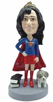 Custom Bobble Head Super Girl 3 Premium | Gifts For Women