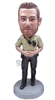 Police Man Personalized Bobble Head 5 | Gift Ideas For Men