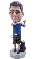 Golfer Custom Bobble Head 9 | Gift Ideas For Men