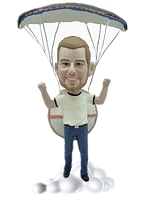 Parachute Custom Bobble Head (Bobbing )