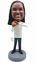 Football Custom Bobble Head 12 (Bobbing )