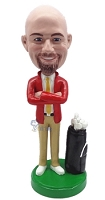 Golfer Custom Bobble Head 8 | Gift Ideas For Men