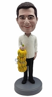 Bananas Male Custom Bobble Head | Gift Ideas For Men