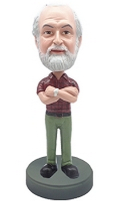 Man With Hands Crossed 4 Custom Bobble Head | Gift Ideas For Men