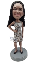 Custom Bobble Head Sexy Outfit | Gifts For Women