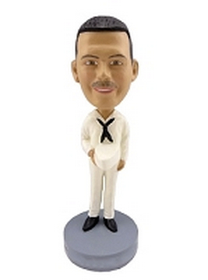 Navy Custom Bobble Head | Gift Ideas For Men