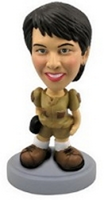 Custom Bobble Head Venture Girl | Gifts For Women