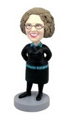 Custom Bobble Head Short Skirt 2 Female | Gifts For Women