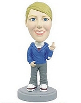 Casual Women custom bobblehead doll  7