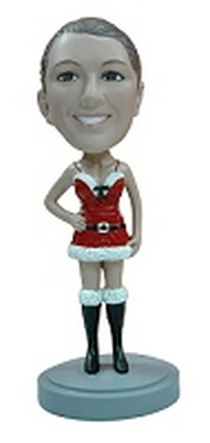 Custom Bobble Head Super Sexy Holiday Outfit | Gifts For Women