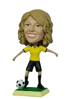 Soccer Female custom bobblehead doll