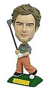 Golf custom bobblehead doll 2