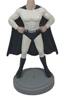 Muscle Super Hero Custom Bobble Head | Gift Ideas For Men
