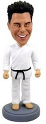Karate Man Custom Bobble Head | Gift Ideas For Men