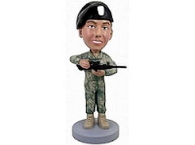 Military Custom Bobble Head 4 | Gift Ideas For Men