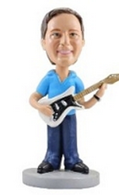 Guitar Custom Bobble Head 2 | Gift Ideas For Men