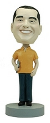 Male Coach custom bobblehead doll 1