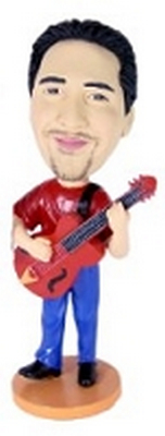 Guitar Custom Bobble Head 3 | Gift Ideas For Men