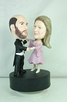 Dancing Couple Custom Bobble Head | Gift Ideas For Couples