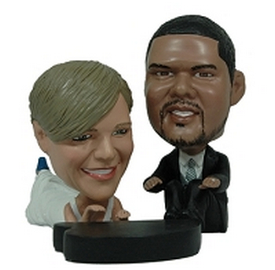 Wedding Couple With Piano Custom Bobble Head | Gift Ideas For Couples