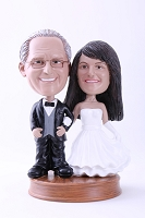 Wedding Couple Custom Bobble Head Premium 4 | Gift ideas for weddings