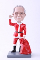 Santa Waving Custom Bobble Head Premium | Gift Ideas For Men