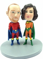 Super Couple Custom Bobble Head Premium | Gift Ideas For Couples
