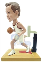 Basketball Player on a premium base court custom bobblehead doll 4