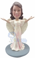 Custom Bobble Head Premium Angel 3 | Gifts For Women