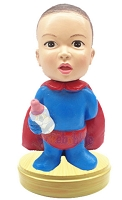 Super Baby custom bobblehead doll