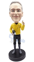 Star Trek Male Custom Bobble Head | Gift Ideas For Men