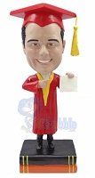 Graduation Custom Bobble Head 5 | Gift Ideas For Men