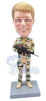 Military Custom Bobble Head 6 | Gift Ideas For Men