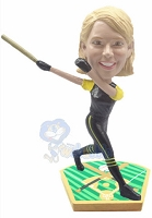 Custom Bobble Head Baseball Gal Batter 2 | Gifts For Women