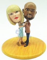 Dancing Couple Custom Bobble Head Premium | Gift ideas for couples