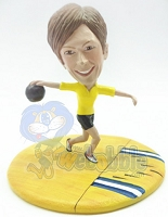 Custom Bobble Head Bowler Personalized Bobble Head Female Premium | Gifts For Women