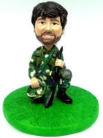 Male Soldier Custom Bobble Head Premium | Gift Ideas For Men