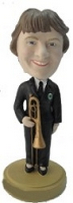 Trombone Player custom bobblehead doll