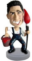 Painter Personalized Bobble Head | Gift Ideas For Men