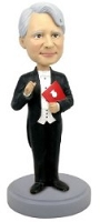 Music Conductor custom bobblehead doll