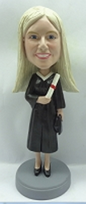 Custom Bobble Head Graduation Female 3 | Gifts For Women