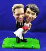 Man And Women (Wedding) Custom Bobble Head | Gift ideas for weddings