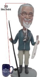 "Super Large 20"" Full Custom Bobble Head (Bobbing )"