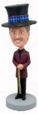 Chocolate Maker custom bobblehead doll
