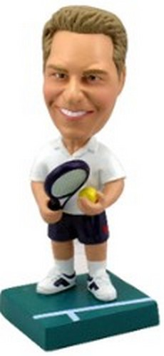 Tennis custom bobblehead doll